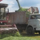 Agro druzstvo Rozstani - seceni na silaz do sberneho kose trambusu